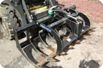 skidsteer 66 inch root grapple attachment description link