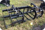 Skidsteer 78 inch root grapple attachment description link