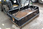 Skid steer rock away soil preparer attachment description link