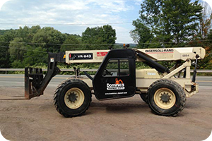 Ingersoll Rand 843 Aerial lift fork lift  description link