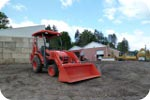Kubota B26 Backhoe description link